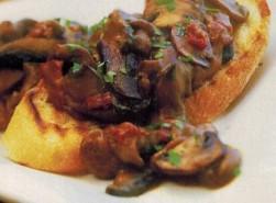 Kidney and mushroom ragout