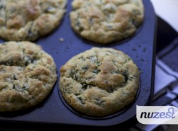 Spinach Feta Muffins wm