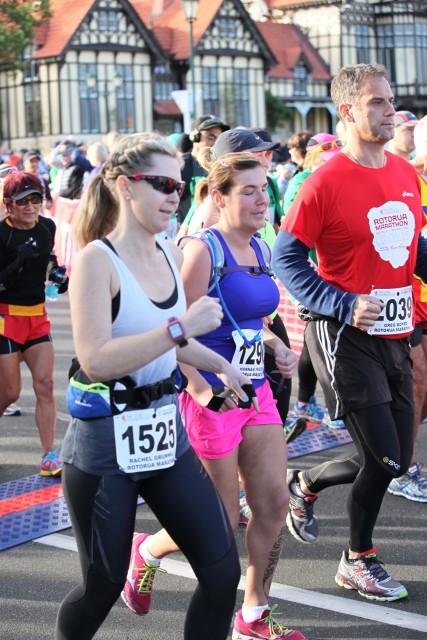 Rotorua Marathon 2015(run pic)