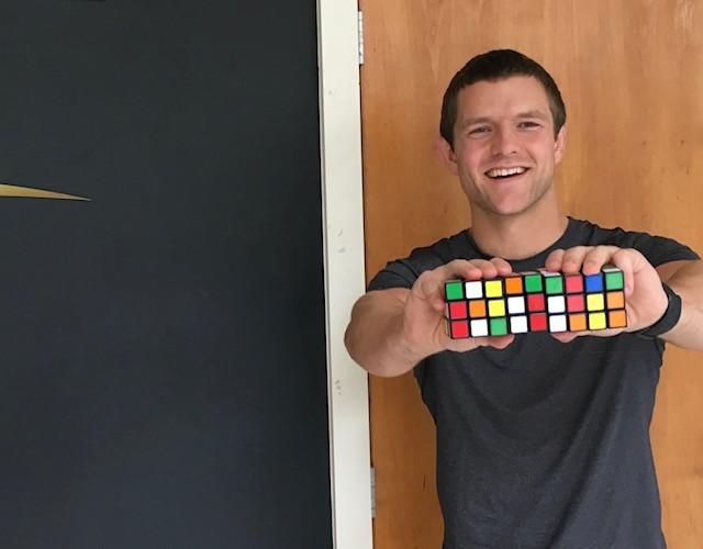 Blair & Rubik's cubes