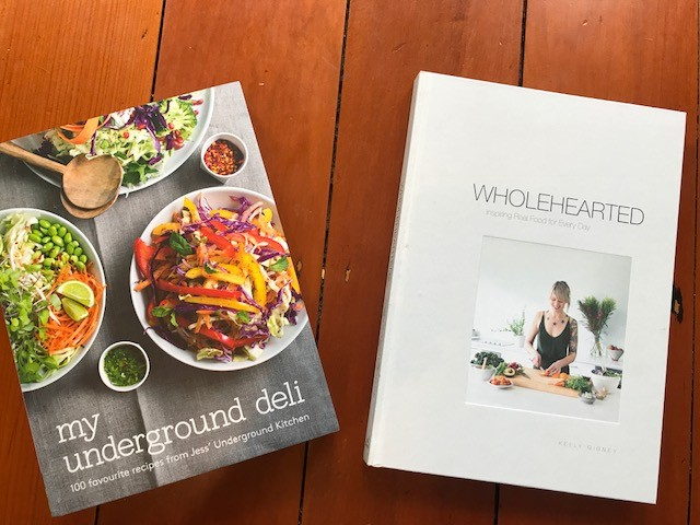 two cook books smaller size