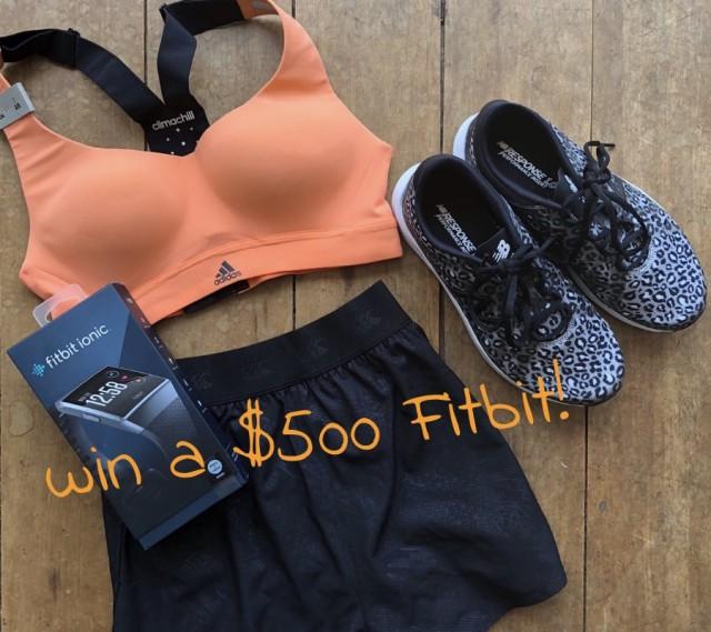 win a 500 fitbit