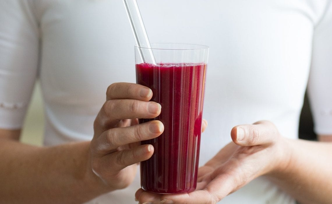Beetroot Energiser Juice by Rachel Grunwell