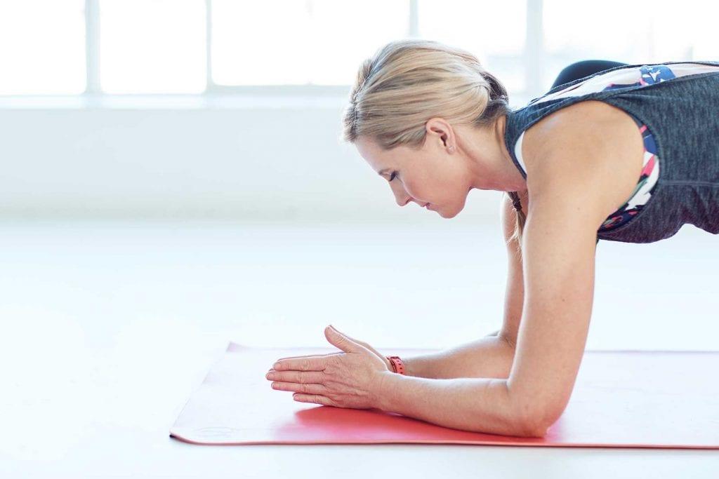 Rachel Grunwell plank yoga pose